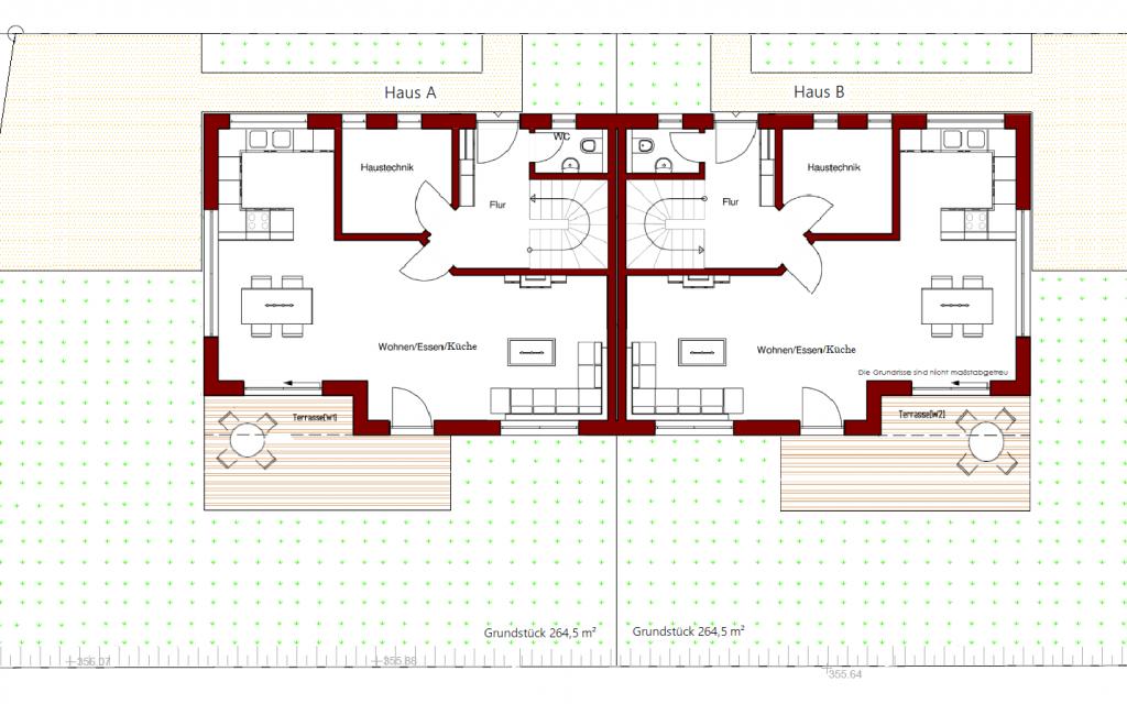 Grundstückseinteilung -2